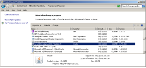 1-a program and features - JDK 1.7 sudah terinstall